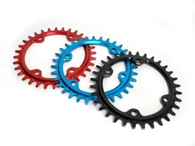 GARBARUK Chainring 1-speed narrow-wide BCD 96 Shimano...