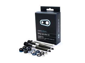 CRANK BROTHERS Pedale Achsen Upgrade Kit Long Spindle Kit...