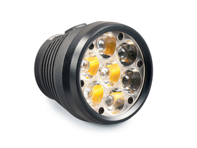 LUPINE Lampenkopf Betty TL2 5000 Lumen 26° Optik
