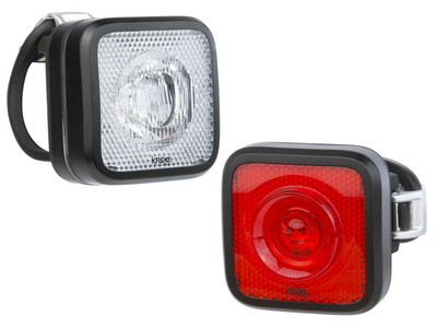 KNOG front light Blinder Mob StVZO Twinpack front + rear