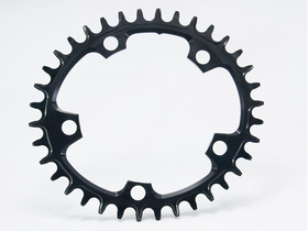 GARBARUK Chainring 1-speed oval narrow-wide CX BCD 110...