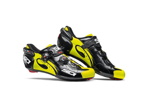 SIDI Wire Carbon Push road shoe black/yellow