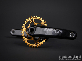 ABSOLUTE BLACK Chainring Direct Mount oval for Race Face...