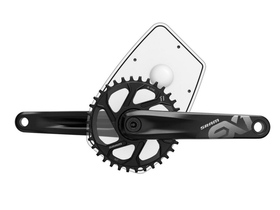 SRAM EX1 E-Bike Crank 1x8 ISIS without Chainring 175 mm