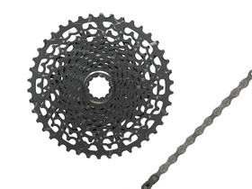 WEAR SET 11-speed SRAM NX | APEX1 Cassette PG-1130 11-42...