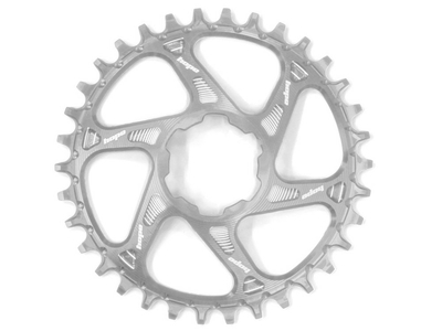 HOPE Chainring Direct Mount Spiderless Retainer Ring Narrow Wide 1-speed silver