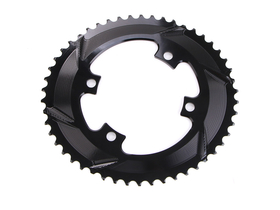 ABSOLUTE BLACK Chainring Road oval 2X BCD 110/4...