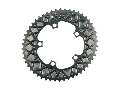 Absolute Black Chainring Road Oval 2x Bcd 110 5 For Sram