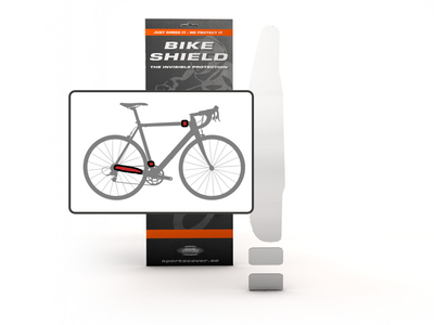 BIKESHIELD protection foil Stay + Headshield