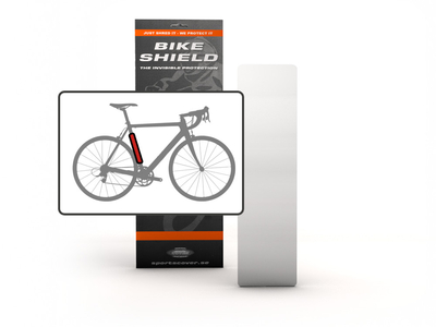 BIKESHIELD frame protection foil TubeShield Medium