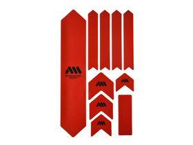 ALL MOUNTAIN STYLE frameprotector foil Frame Guard XL red