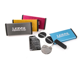 LEZYNE Metal Kit Glueless Patch Kit gold