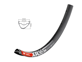 DT SWISS Rim 29 XR 361 asymmetric 28 Holes