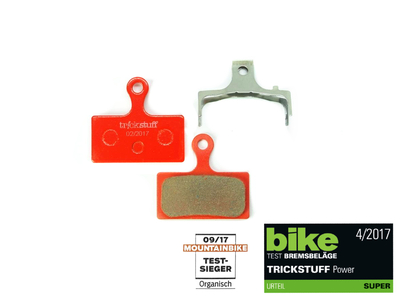 TRICKSTUFF Brake Pads 250 POWER Resin for Shimano XTR |...