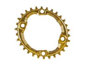 ABSOLUTE BLACK Chainring oval XT M8000 1-speed BCD 96...
