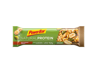 POWERBAR Recovery Riegel Natural Protein Vegan Salty...