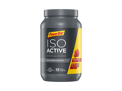 POWERBAR Isoactive isotonic sports drink red Fruit Punch | Can 600g