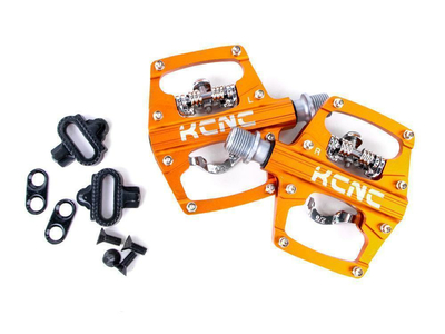 KCNC Pedal AM-TRAP MTB Plattform + Clipless with Steel Axle