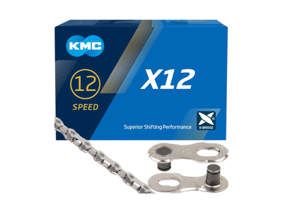 KMC Chain 12-Speed X12 126 Links | silver
