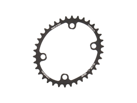 CARBON TI Chainring X-RoadCam Oval 4-arms BCD 110 | inside