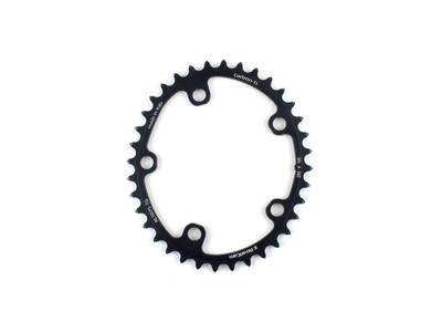 CARBON TI Chainring Set X-CarboCam Oval BCD 110 | 52/38 Teeth