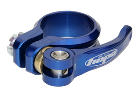 HOPE Seatpost Clamp Quick Release 34,9 mm blue