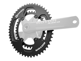 ROTOR Chainring Set Q-Rings oval 2-speed BCD 110 mm |...
