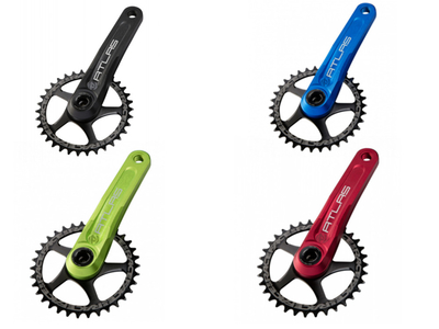 RACE FACE Kurbelarme Atlas CINCH System farbig