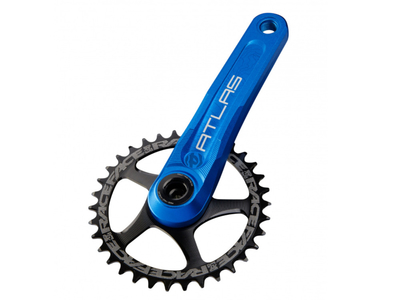 RACE FACE Kurbelarme Atlas CINCH System farbig 170 mm blau
