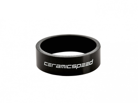CERAMICSPEED Spacer Carbon UD with Logo | 10 mm