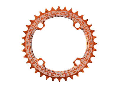 RACE FACE Chainring BCD 104 | 4-Bolt Narrow Wide 1-speed orange