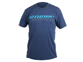 NINER T-Shirt Inversion blau / grau | Midnight Navy L