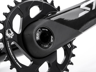 TRUVATIV Fatbike Crank Stylo Carbon Eagle DUB black 1x12...
