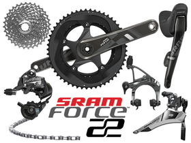 SRAM Force 22 complete Group 2x11 for BB386