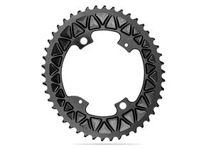 Absolute Black Chainring Sub Compact Oval 2x Bcd 110 4
