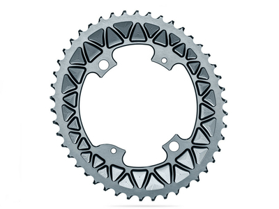 ABSOLUTE BLACK Chainring Sub Compact oval 2X BCD 110 4...
