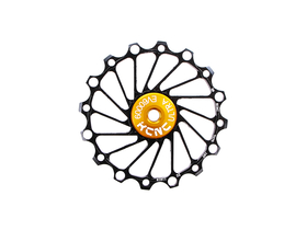 KCNC Jockey Wheel Narrow Wide | 16 Teeth black