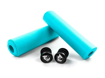 WOLFTOOTH grips Fat Paw 9.5 mm teal | Limited Edition