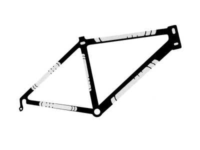 LIZARD SKINS Bike Frame Protection Patch Kit | clear