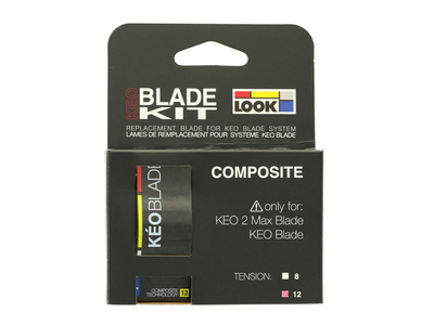 LOOK KéO Blade Black Replacement Kit