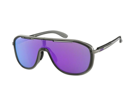 OAKLEY Sonnenbrille Outpace Onyx | Violet Iridium OO4133-06