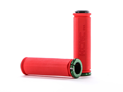 KCNC Grips EVA Lock-On Grip red