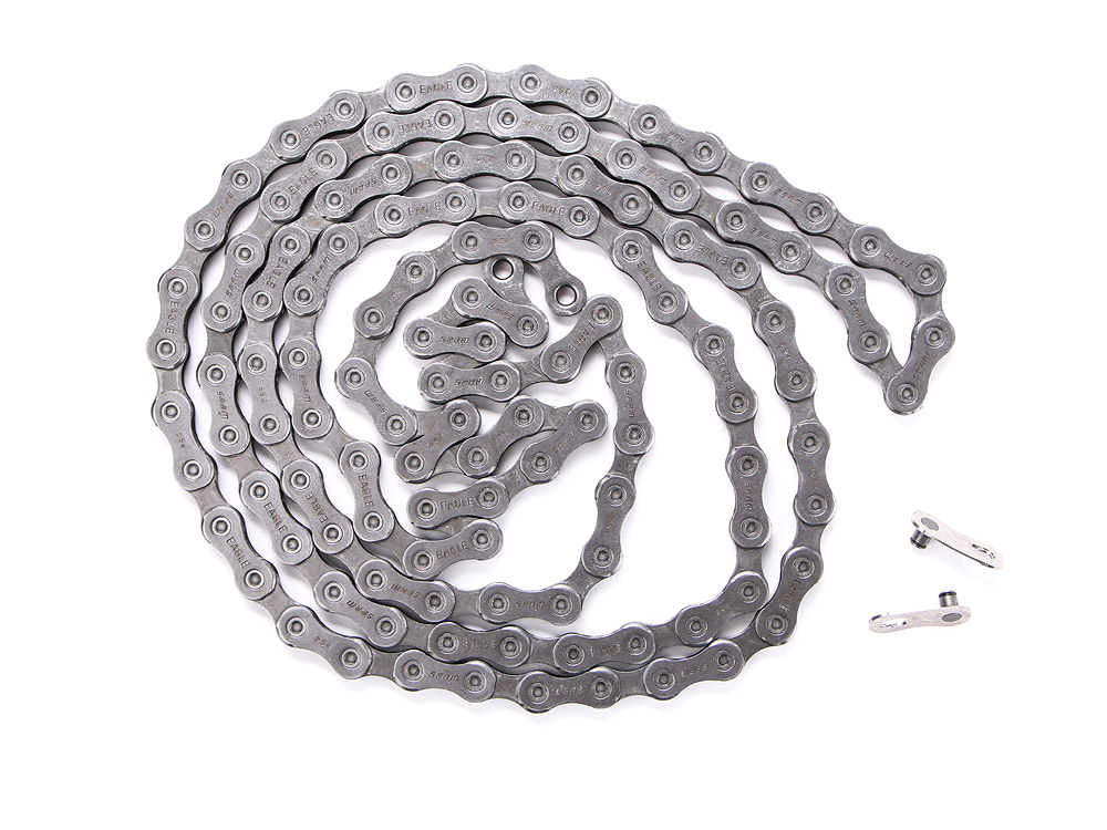 Silver//Gray SRAM GX Eagle 12-Speed Chain 126 links With PowerLock
