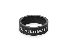 NEW ULTIMATE Spacer Carbon UD 10 mm | clearcoat