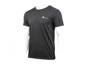 R2-BIKE Logo T-Shirt | dark heather grey