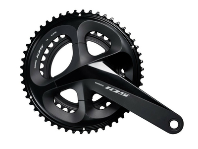 SHIMANO 105-R7000 Crank 2-speed FC-R7000 black 172,5 mm...