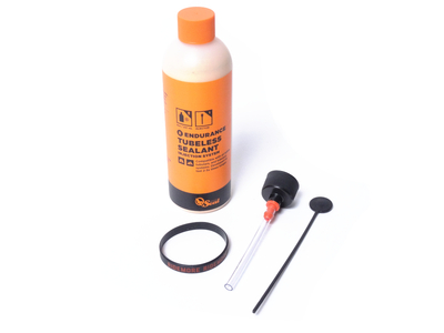 ORANGE SEAL Endurance Tubeless Sealant 8oz with Injector...