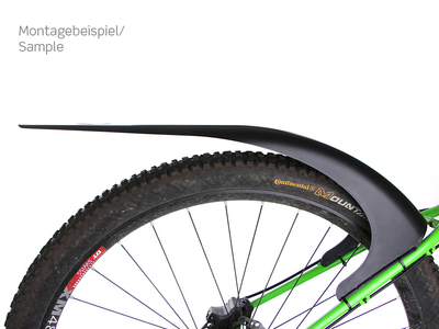 MUDHUGGER 29er Race Fender rear | black