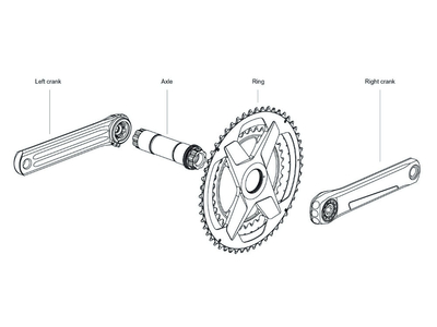 ROTOR Crank Set VEGAST for Road Bike 1-speed | Direct...