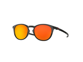 OAKLEY Sonnenbrille Pitchman Polished Black | Prizm Ruby...